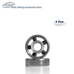 China High Speed 5 Balls Black Si3N4 Ceramic Bearing 627 Skateboard Bearing supplier si3n4 ball suppliers
