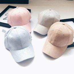 ba28c494a70 1 pc Suede Snapback Visor Sport Sun Adjustable Hats Unisex Summer Autumn  Spring Baseball Caps For Men Women