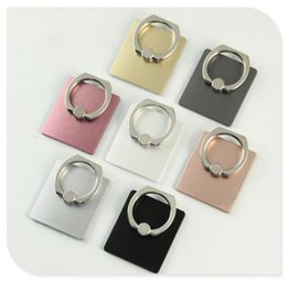retail cell phone stands 2019 - Cell Phone Back Holder Metal Stand Universal Phone Ring Mount 7 Colors Cheap Price without Retail Package cheap retail c