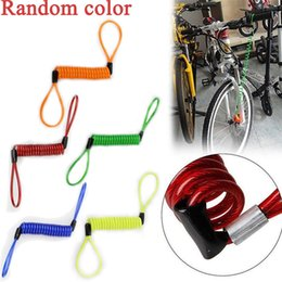 security reminder 2019 - Bicycle locks 2017 new arrival Motorcycle Bike Scooter Alarm Disc Lock Security Spring Reminder Cable Strong ciclismo ac