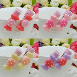 $enCountryForm.capitalKeyWord NZ - 30pcs lot Cute Candy Hair bows Hair Clips Barrettes for Toddlers Baby Girls Kids Hair Accessories