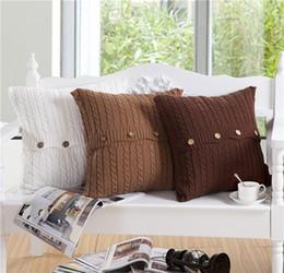$enCountryForm.capitalKeyWord Australia - Twist braid flower double-sided cotton yarn twist pillow pillow cover cushion car waist pillow cushion home decoration gift