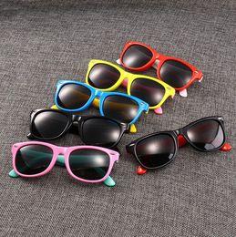 fd16eac7f46a baby Girls boys fashion anti UV400 Eyeglasses toddler baby sunglasses fit baby  kids children free shipping