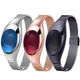 girls smart watches 2019 - Smartch Z18 Smart band Blood Pressure Heart Rate Monitor Pedometer wristband best gift watch for women girl discount gir