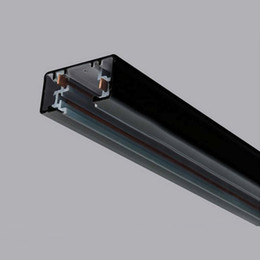scon 3 wire phase 2 circuit aluminium track rail for led track spotlight  modern indoor lighting fixtures