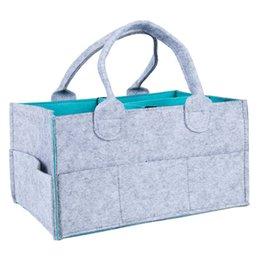 ABWE En İyi Satış Bebek Bezi Caddy Organizatör, Taşınabilir Bezi Caddy Kreş Saklama Kutusu, Bebek Mendil Çantası, Değiştirilebilir Bölmeler çantası