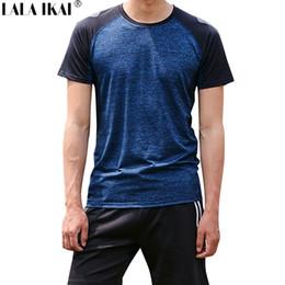 6596669aa Outdoor Sport Shirt Men NZ - LALA IKAI Outdoor Sport T-shirt Men Summer  Short