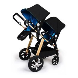 China KDS twins strollers 0-4 years used light twin prams with 4 protection parts for stroller supplier stroller twins suppliers