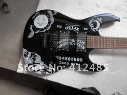 China wholesale price seller Hot Guitar High-quality New black KH-2 Kirk Hammett Ouija white electric guitar suppliers