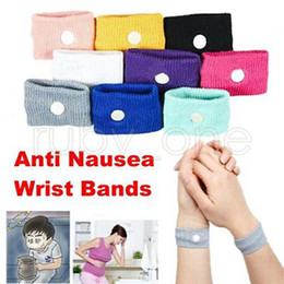 Chinese  Anti nausea Wrist Support Sports cuffs Safety Wristbands Carsickness Seasick Anti Motion Sickness Motion Sick Wrist Bands GGA527 200PCS manufacturers