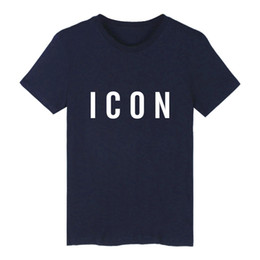 Hot Hip Hop Fashion UK - Funny Hot Sale Fashion Brand Icon T shirt Men Casual Print With Icon Hip Hop cotton Short Sleeve Tee shirt 3xl