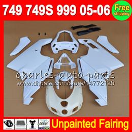 China 8Gifts Unpainted Full Fairing Kit For DUCATI 749 999 05-06 749S 749R 05 06 749-999 05 06 2005 2006 2005-2006 Hot Fairings Bodywork Body kit cheap fairing kit 749s suppliers