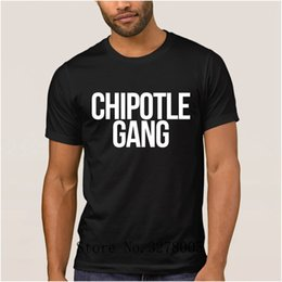 $enCountryForm.capitalKeyWord Australia - La Maxpa Custom Logo New Arrival Humor Chipotle Gang Men's T Shirt Formal 2018 Men's T-Shirt Adult O Neck Tshirt Cheap Sale