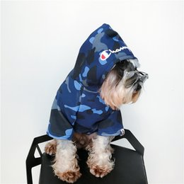 f203c5414af4d Camouflage Hoodies For Pets Dog Cute Teddy Puppy Schnauzer Apparel Winter  Warm Outwears Fashion Dog Red Hooded Coat Fleece Sweater Clothing