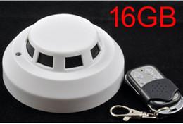 $enCountryForm.capitalKeyWord Canada - 16GB Remote Control Smoke Detector Camera Mini Camcorder Security & Surveillance Cameras H.264 720P Video Camera Night