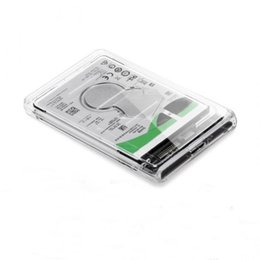 Hdd support online shopping - New inch USB to Sata HDD Case Tool Support TB UASP Protocol Hard Drive Enclosure QJY99