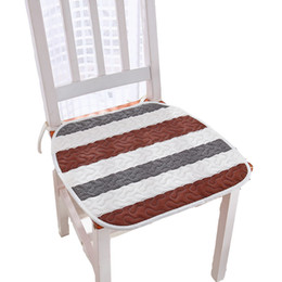 Green Office Chairs UK - New 40*40cm Square Cotton Office Chair Seat Cushion Sofa Pillow Car Seat Mat Home Decor Kitchen Chair Sitting Pad Cushions cojines sofa