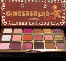 18 palette online shopping - 2018 hot new Arrivals makeup palette Gingerbread spice Man Girl spice color eyeshadow palette bite me ePacket