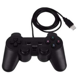 Joystick for pc computer online shopping - Gasky Wired Gamepad USB Game Controller Gaming Joypad Joystick Control for PC Computer Laptop Gamer Black Game Console Boy Gift