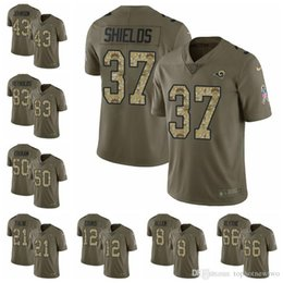 Los Angeles Limited football Jersey Rams Olive Camo 2017 Salute to Service  30 Todd Gurley 16 Jared Goff 99 Aaron Donald e45f7bd3e
