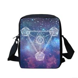 $enCountryForm.capitalKeyWord Canada - BAOBEIKU New Men Women Messenger Bag Magic circle Fashion Shoulder Bags For Girls School Travel Bags Children Drop Shipping