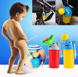 Wholesale convenient New Children Boy and girls Potty Urinal Boys Travel Camping Train Outdoors Potty Pee Standing PottiesToilet