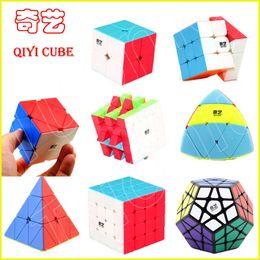 Magic Blocks Puzzle Australia - XMD QIYI 2x2 3x3 4x4 5x5 Magic Puzzles Cube Competition Blocks Speed Professional Cubes Brain Teaser Magico Cub Toys