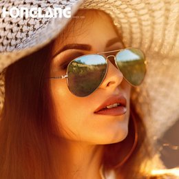 fa7d2cdbf7 1pcs High quality Classic Pilot Sunglasses Designer Large Metal Sun Glasses  For Men Women Silver Glass Polarizing Lenses with box