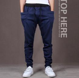 Green biG pocket pants online shopping - Fashion Men Casual Pants Cool Design Big Pocket Top Here Brand Clothing Army Trousers Hip Hop Harem Pants Mens Joggers Fit Slim Pants New