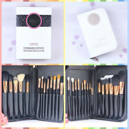 Goat Hair Dhl Australia - Promotion! New Professional Cosmetics Super makeup brushes 29 Pieces Brush Set Goat hair +bag Wholesale High-quality Dhl free Shipping+gift