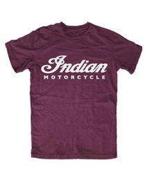 $enCountryForm.capitalKeyWord UK - Indian Motorcycle Script T-Shirt BURGUND, Indianer, Fashion, Motorrad,Kult Casual Funny free shipping Unisex tee gift