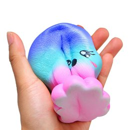 Computer kids online shopping - Squishies rare kawaii squishy jumbo Octopus slow rising squishy with package kids toy gifts scented bread