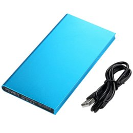 $enCountryForm.capitalKeyWord UK - 20000mAh Power Bank Portable Ultra Slim Quick Charge Powerbank Dual USB External Battery Charger Fast 20000 mAh Poverbank