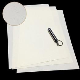 Colore bianco anti contraffazione della carta di sicurezza 85Lm di CottonLinen con la dimensione visibile della fibra A4 StarchAcid libera impermeabile in Offerta