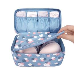 $enCountryForm.capitalKeyWord UK - Women's Underwear Storage Bag Portable Foldable Waterproof Lingerie Bra Travel Storage Box Makeup Wash Storage Case