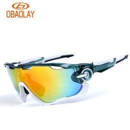 Wholesale Cycling Glasses Bike Goggles for women men Outdoor Sports Sunglasses UV400 Big Lens Spectacles Sunglasses Oculos Ciclismo