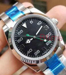 Новый 2813 Лучшие мужские механические из нержавеющей стали автоматическое движение воздуха король часы Спорт Self-wind часы Spors наручные часы
