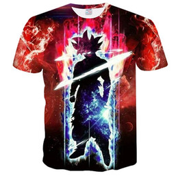 $enCountryForm.capitalKeyWord UK - Men Women Casual Pullover 3D Print Dragon ball Z monkey goku super cyan T Shirt Tops Harajuku Short Sleeve Newest Clothing K009