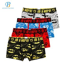 Pink Heroes 4pcs lot Men Underwear Boxers Cartoon Printed Cotton Boxer Mens  Underwear Sexy Brand Comfort Underpants Boxer Shorts b199930cf