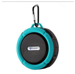 C6 new water-proof sucker, wireless Bluetooth speaker, three guard card, small audio, outdoor portable hands-free speaker, manufacturer's fi on Sale