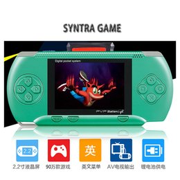 ba08b37806d Mini Portable PXP3 PXP (16Bit) PVP (8Bit) Game Video Console TV-Out Games  Slim Station Gaming Console Player Child Xmas Best Gift