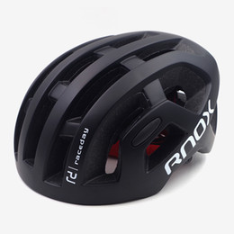 Black Orange Road Bicycle NZ - RNOX ultralight mens cycling helmet Octal black mtb mountain road bicycle helmet for women adult 55-61cm Racing bike equipment Y1892908