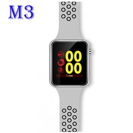 Smart Watch Android Sync Australia - Bluetooth Smart Watch M3 With Camera Facebook Whatsapp Twitter Sync SMS Smartwatch Support SIM TF Card For IOS Android