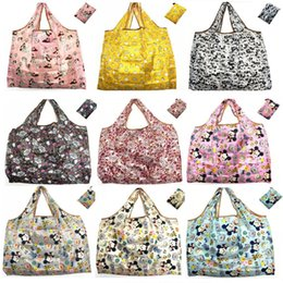 $enCountryForm.capitalKeyWord Australia - Cartoon Animal Foldable Shopping Bags Large Capacity Grocery Reusable Storage Bag Eco Friendly Handbags Tote Bags Travel Waterproof Bags TR5