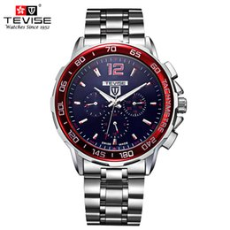 analog watches men NZ - TEVISE Automatic Mechanical Watches Men Self Wind Auto Date Month Week Stainless Steel Luminous Analog Wristwatches 356 C18111601