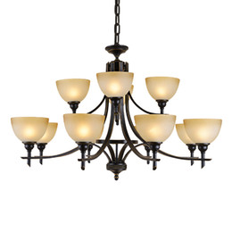 $enCountryForm.capitalKeyWord UK - Old Bronze chandliers for foyer room Antique Bronze 6-light Crystal and Dark Bronze Finish Iron Chandelier classic chandelier