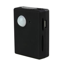 Vente en gros X9009 Caméra Infrarouge Sans Fil Mini Gsm Pir Alarme GSM Tracker Autodial PIR MMS Système D'écoute Moniteur Système D'alarme