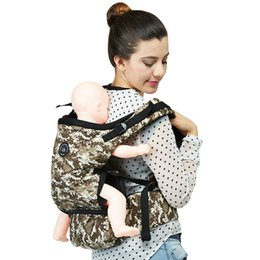 571dfd5559c New Arrive Cool Baby Belt Holding Sling Breathable Multifunctional Newborn Infant  Carrier Double Shoulder Strap Baby Waist Stool