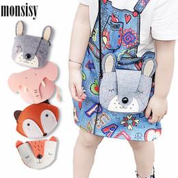 Discount cute fox wallet - Monsisy Cute Girl Rabbit Fox Coin Purse Children Wallet Boy Small Change Purse Kid Bag Baby Money Handbag Monederos Para