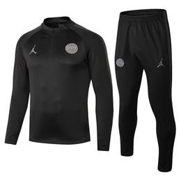 jersey sets 2019 - new 2018 psg Training suit 2018 2019 Psg soccer Tracksuit Sets paris saint germain jacket MBAPPE juventus real madrid je